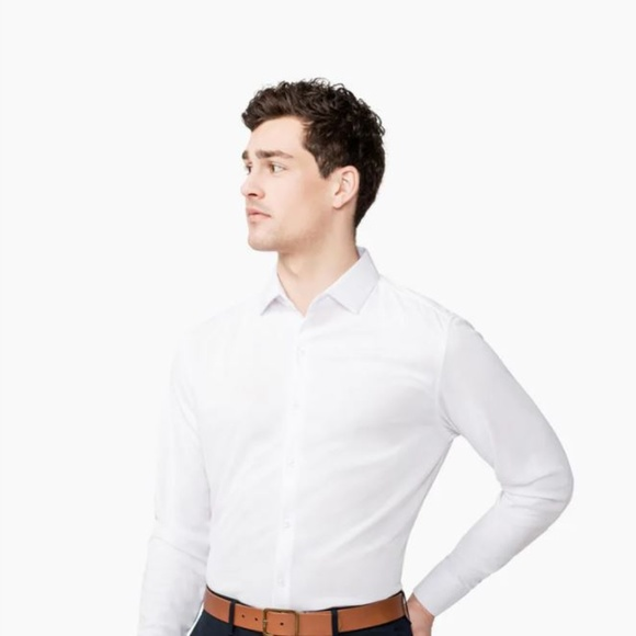 various colors Ministry of Supply medium slim fit Apollo Dress Shirt